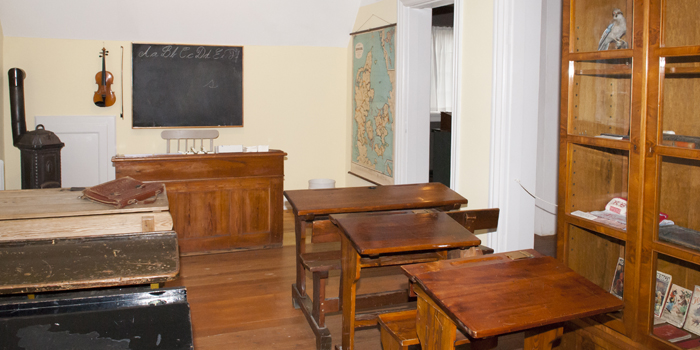 skolestue på Bymuseet i Hillerød