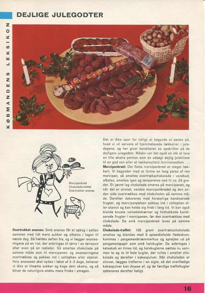 Julegodter opskrift fra Købmandens leksikon
