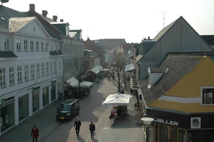 Slotsgade i 2008