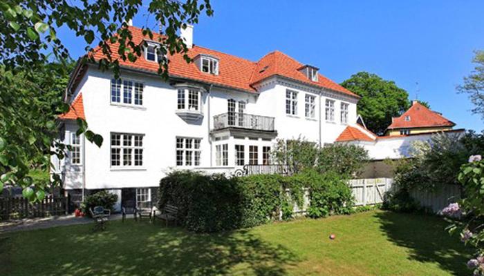 Vallerød Banevej 22, hvor Pernilles Børnehotel lå i 1950'erne. Foto 2012