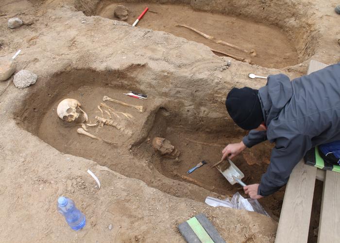 arkæologisk udgravning Wesselsminde Nærum