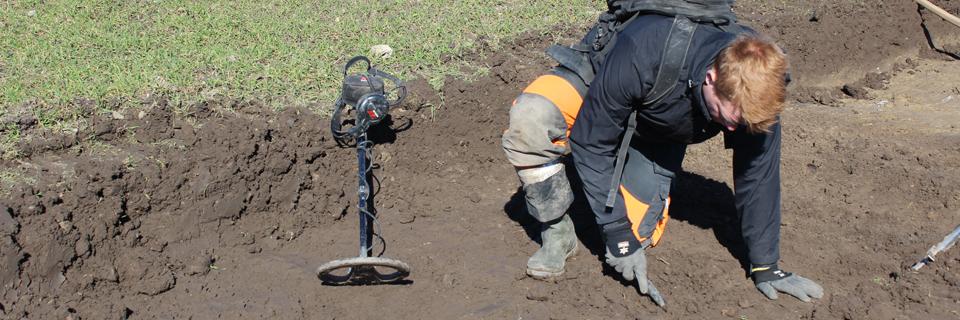 arkæologiske detektor fund